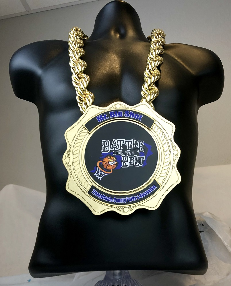 Kratos Gold Championship Chain customized championship chain image