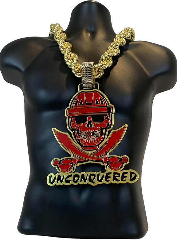 Unconquered Football Turnover Chain Award
