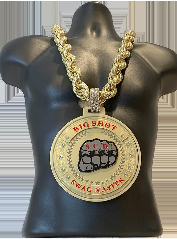 SCD! Big Shot Swag Master Award