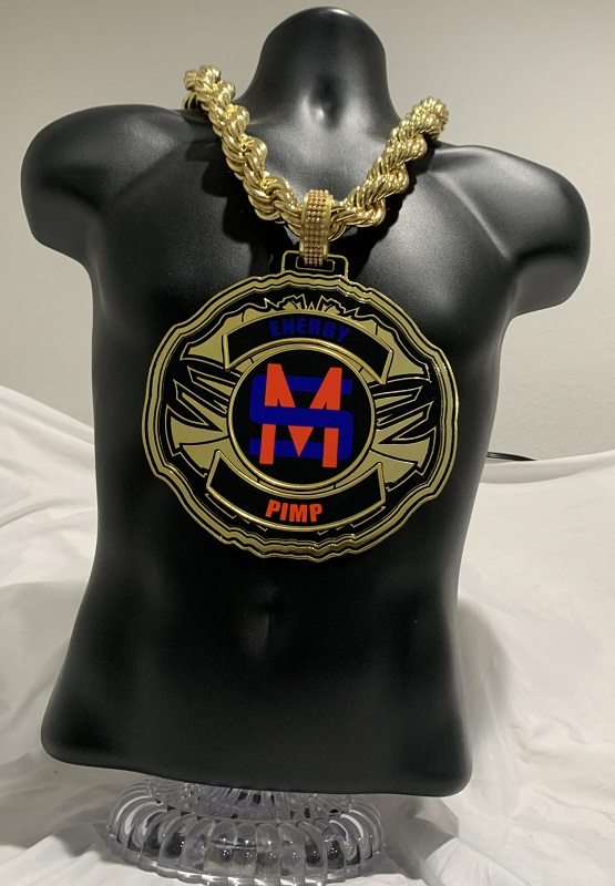 Zeus Gold Championship Chain customized championship chain image