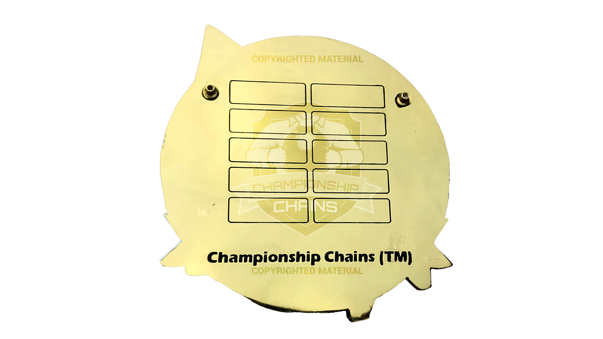 Ballers Only customized championship chain image