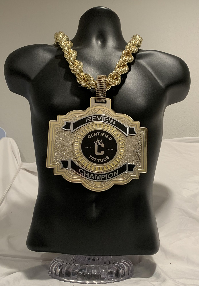 Ares Blank Championship Chain customized championship chain image