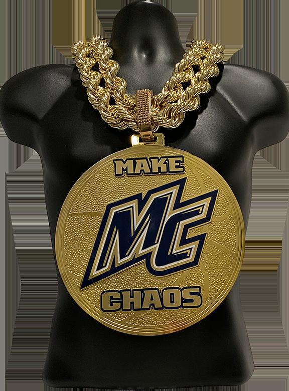MC Make Chaos Basketball Championship Chain
