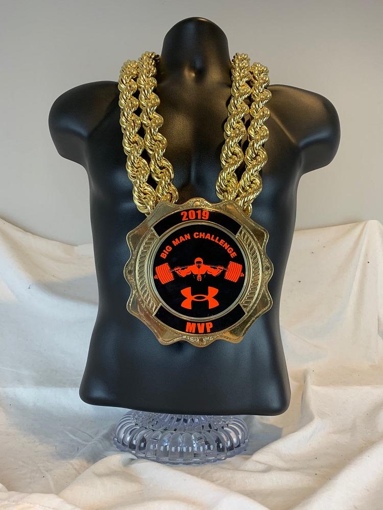 Kratos Gold Championship Chain customized championship chain image