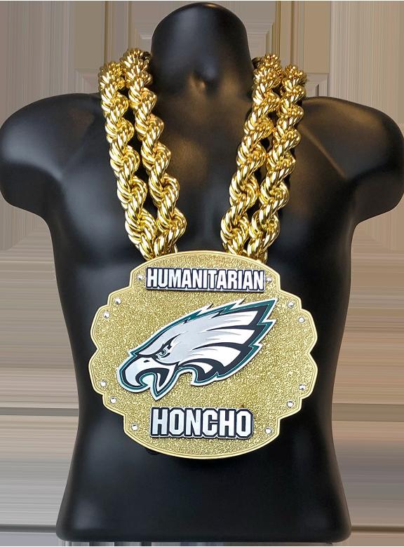 NFL Eagles Humanitarian Honcho