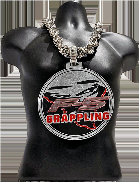 F5 Grappling Custom Championship Award