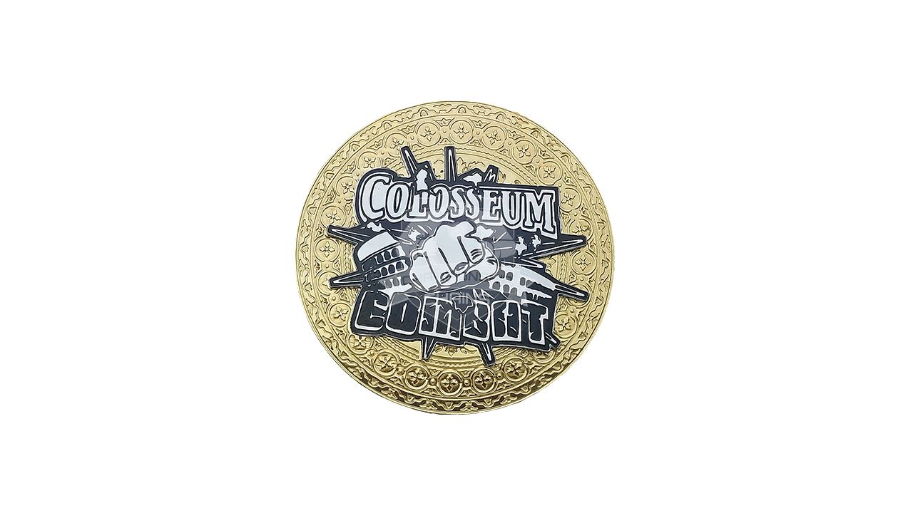 Colosseum of Combat Championship Chain Award