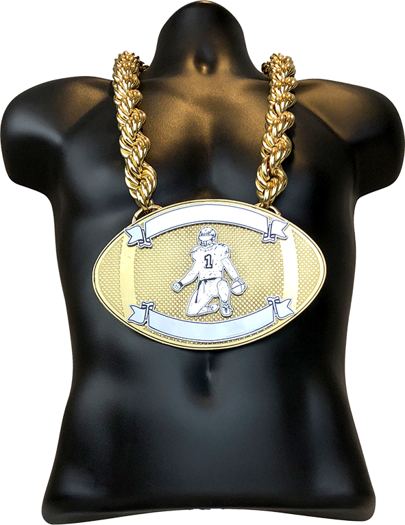 Football MVP Championship Chain Award